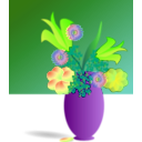 download Bouquet Of Flowers clipart image with 45 hue color