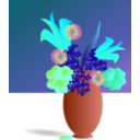 download Bouquet Of Flowers clipart image with 135 hue color