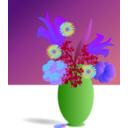 download Bouquet Of Flowers clipart image with 225 hue color