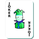 download White Deck Black Joker clipart image with 135 hue color