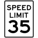 Speed Limit 35