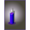 download The Candle clipart image with 225 hue color