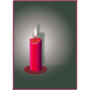 download The Candle clipart image with 315 hue color