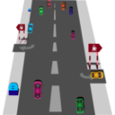 download Road clipart image with 135 hue color