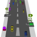 download Road clipart image with 225 hue color