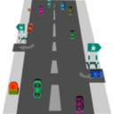 download Road clipart image with 315 hue color