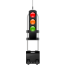 Mobile Roadwork Traffic Light