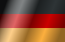 Flag Of Germany With Wind