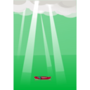 download After Storm clipart image with 315 hue color