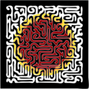 Muster 52c Maze With Sun