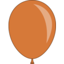 download Balloon clipart image with 315 hue color