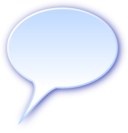 3d Rounded Speech Bubble