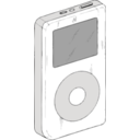 download Ipod clipart image with 180 hue color
