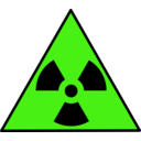 download Nuclear Warning Sign clipart image with 45 hue color