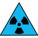 download Nuclear Warning Sign clipart image with 135 hue color
