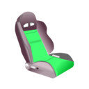 download Racing Seat clipart image with 135 hue color