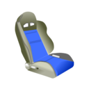download Racing Seat clipart image with 225 hue color