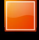 Stop Orange Button Tango Style
