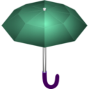download Umbrella clipart image with 225 hue color