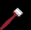 Red Paintbrush