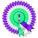 download Rosette clipart image with 270 hue color