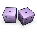 download Dice 11 clipart image with 225 hue color
