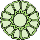 download Rosette 2 clipart image with 45 hue color