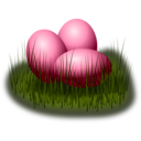 download Egg In Grass clipart image with 315 hue color