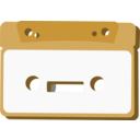 download Radio Cassette clipart image with 135 hue color