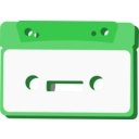 download Radio Cassette clipart image with 225 hue color