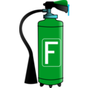 download Fire Extinguisher clipart image with 135 hue color