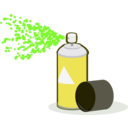 download Spray Paint In Action clipart image with 45 hue color