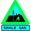 download Warning Shale Gas With Text clipart image with 135 hue color