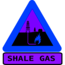 download Warning Shale Gas With Text clipart image with 225 hue color