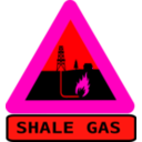 download Warning Shale Gas With Text clipart image with 315 hue color