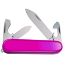 download Swiss Army Knife clipart image with 315 hue color