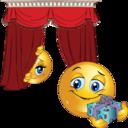 Shy Girl Smiley Emoticon
