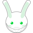 download Rabbit clipart image with 135 hue color