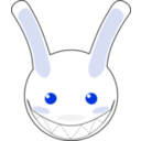 download Rabbit clipart image with 225 hue color
