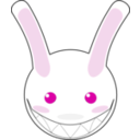 download Rabbit clipart image with 315 hue color