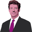 download Rand Paul clipart image with 315 hue color