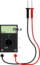 Digital Multimeter With Leads
