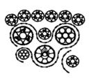 Bike Chain Vector