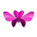 download Wingloveheart clipart image with 315 hue color