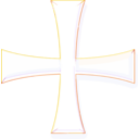 Holy Greek Color Cross