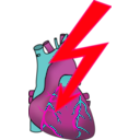 download Heart Attack clipart image with 315 hue color