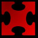 Red Jigsaw Piece 03