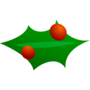 Christmas Leaf Decoration