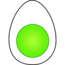download Soft Boiled Egg clipart image with 45 hue color