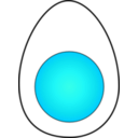 download Soft Boiled Egg clipart image with 135 hue color